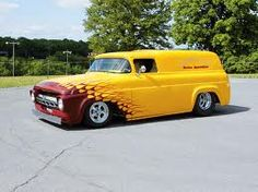 Lowered & Chopped '57 Ford Panel Truck