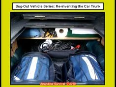 How to build a false floor in your car trunk
