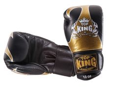 Rękawice bokserskie Top King TKBGEM-01GD 12oz