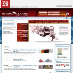 Website 'http://www.informagiovanionline.it/emiliaromagna' snapped on Snapito!
