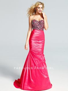 Trumpet / Mermaid Sweetheart  Beading  Sleeveless Floor-length Taffeta Prom Dresses / Evening Dresses