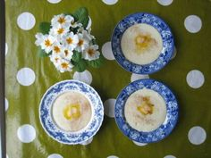 porridge with a lot of butter