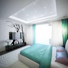 """Tree rooms apartment """"Zatishie"""" in Elektrostal, Moscow Region, Russia.: moderne Schlafzimmer von Insight Vision GmbH"""