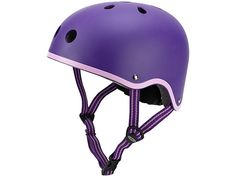 Micro Scooter Safety Helmet, Purple, Medium