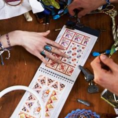 How To: Read A Cross Stitch Chart