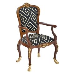 Belfort Armchair from Town Square Miniatures Platinum Collection