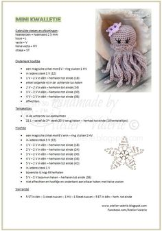 18 Likes, 1 Comments - Умелый Crocheted Jellyfish, Crochet Octopus, Baby Sewing Projects, Crochet Projects, Crochet Patterns Amigurumi, Crochet Dolls, Crochet Mignon, Crochet Diy, Crochet Keychain