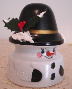 This insulator was painted by Anna in Arizona.