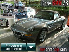 Grey BMW Z8