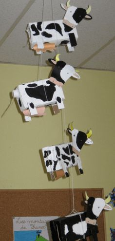 Craft a nice cow? Cows craft tips! Animal Projects, Art Projects, Diy For Kids, Crafts For Kids, Cow Craft, Sensory Art, Farm Unit, Farm Theme, Toddler Activities