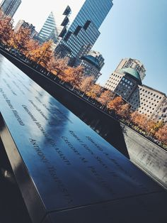 National September 11 Memorial 🇺🇸