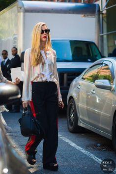 New York SS 2017 Street Style: Joanna Hillman