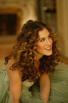15 Best Carrie Bradshaw Hair Images Carrie Bradshaw Hair Curls