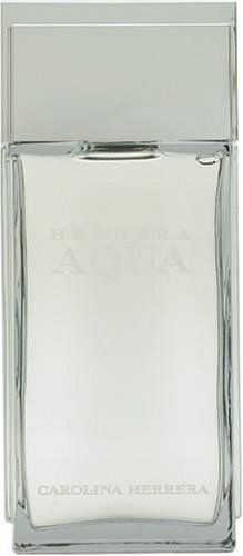 Herrera Aqua By Carolina Herrera For Men. Aftershave Lotion 3.4 OZ by Carolina Herrera. Save 73 Off!. $11.99. Packaging for this product may vary from that shown in the image above. Launched by the design house of Carolina Herrera.