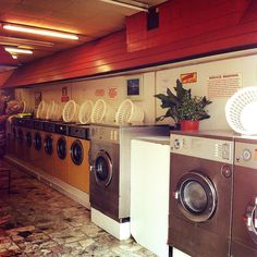 Kleen Care Launderette, East Acton by Flamenco Sun My Beautiful Laundrette, Good Old, Spinning, Albums, Backgrounds, Home Appliances, Bts, Cleaning, London