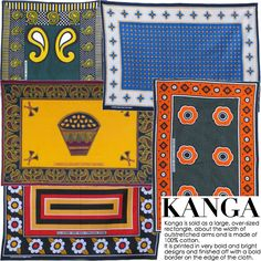 The Fashions of East Africa are typically some of my favorite. Some modern twists on traditional Kanga patterns.