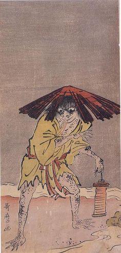 喜多川歌麿 河童 天明5年 寛政5年ごろ(1785-93年ごろ)ベルギー・ロイヤルコレクション Utamaro Kitagawa Kappa 1785 Kansei around five years (1785 - around '93) Belgium Royal collection