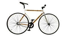 Bamboo Bicycle  By Bamboocycles  Discover this astonishingly light and stylish bicycle. Made of sustainable bamboo, not only is this ride environmentally friendly but it is built for city-riding and ultra chic too.    $1,450