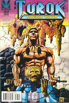 Cover for Turok, Dinosaur Hunter (Acclaim / Valiant, 1993 series) #33