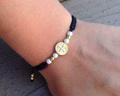 Wax Paper Transfers, Woven Bracelets, Tye Dye, Bracelet Designs, Friendship Bracelets, Zara, Beads, Gold, Etsy
