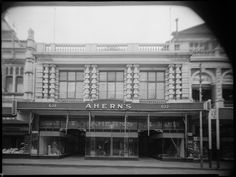 099560PD: Ahern's shop fronts on Hay  Street, Perth, 1950s.  http://encore.slwa.wa.gov.au/iii/encore/record/C__Rb2507975__SAhern%27s%20shop%20fronts%20on%20Hay%20and%20Murray%20Streets__Orightresult__U__X6?lang=eng&suite=def