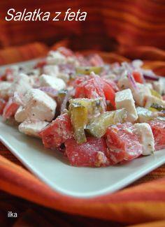Starters, Feta, Potato Salad, Grilling, Salads, Potatoes, Chicken, Cooking, Ethnic Recipes