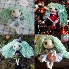 Lalaloopsy amigurumi doll with different outfits