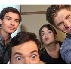 Tyler, Ian, Lucy and Keegan