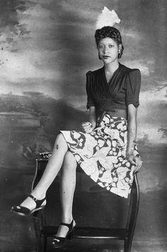 African American woman 1940s - ♀ www.pinterest.com/WhoLoves/Beautiful-Women ♀ #beautiful #women
