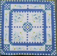 Paisley Polka Dots, machine embroidery quilt pattern from Turnberry Lane