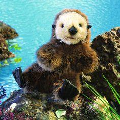 Baby Sea Otter Hand Puppet