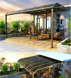 Modern Aluminum rain awning canopy cover