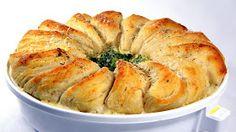 Inspired By eRecipeCards: Chicken Alfredo Biscuit Bake