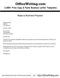 Dissertation proposal rejected