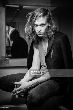 Actor Caleb Landry Jones is photographed for The Hollywood Reporter on May 20, 2012 in Cannes, France. ON