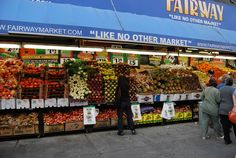 Fairway on the upper west side... loved shopping here for fresh produce and deli items the year I lived in this neighborhood