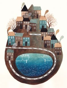 Spanish illustrator Gemma Capdevila - living and working in Barcelona.