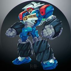 ArtStation - Gear Fighter Dendoh, 藤三郎 TOOMIRO