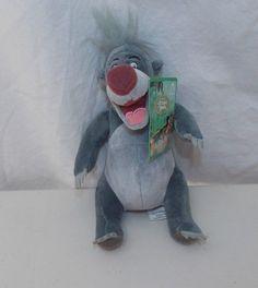 Disney Store Jungle Book Baloo Bear Plush Stuffed Animal Soft Toy 7 in New #DisneyStore