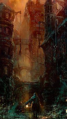 Bloodborne wallpaper for smartphone by De-monVarela.deviantart.com on @DeviantArt