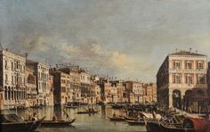 Pietro Bellotto (Volciano 1625 – Gargnano 1700), attributed to, View of the Grand [...], Furnishings and Paintings from Palazzo Corner Spinelli in Venice (Genova) à Cambi Casa d'Aste | Auction.fr