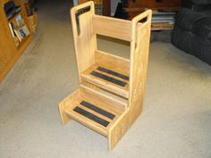 Stools for special needs adults and children by Quarry Designs Wood Working  www.quarrydesignswoodworking.com