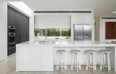 Cocina Blanca Moderna 2017