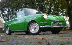 Green VW notchback