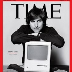 steve jobs time cover legde