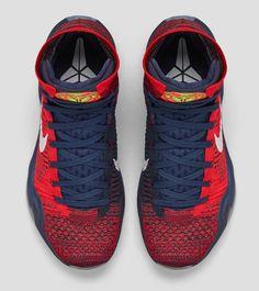 "Nike Kobe X Elite ""American"" (Detailed Pics & Release Info) - EU Kicks: Sneaker Magazine Kobe Shoes, Shoes Sneakers, Basketball Shoes For Men, Nike Kicks, Exclusive Shoes, Sports Footwear, Site Nike, Sneaker Magazine, Workout Shoes"