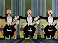 Supervised By Fred Avery: Tex Avery's Warner Brothers Cartoons: (Page) Miss Glory: A Reluctant Excursion Into Style