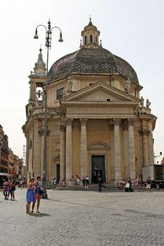 Santa Maria dei Miracoli, Rome Lazio