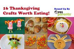 16 Thanksgiving Crafts Worth Eating