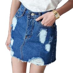 Urban Style  Denim Skirt - Simmply 4 me the popular style you can choose different denim skirt options,